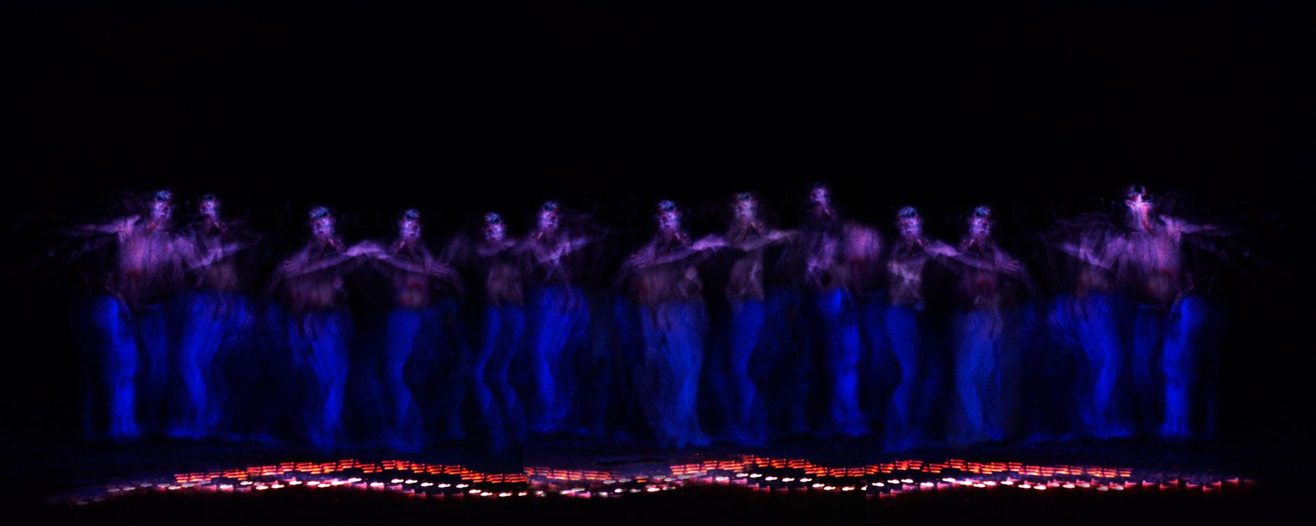 "LINDSAY KEMP - ""SALOME' "" by OSCAR WILDE - The dance of Salomé for John the Baptist - © Graziano Villa"