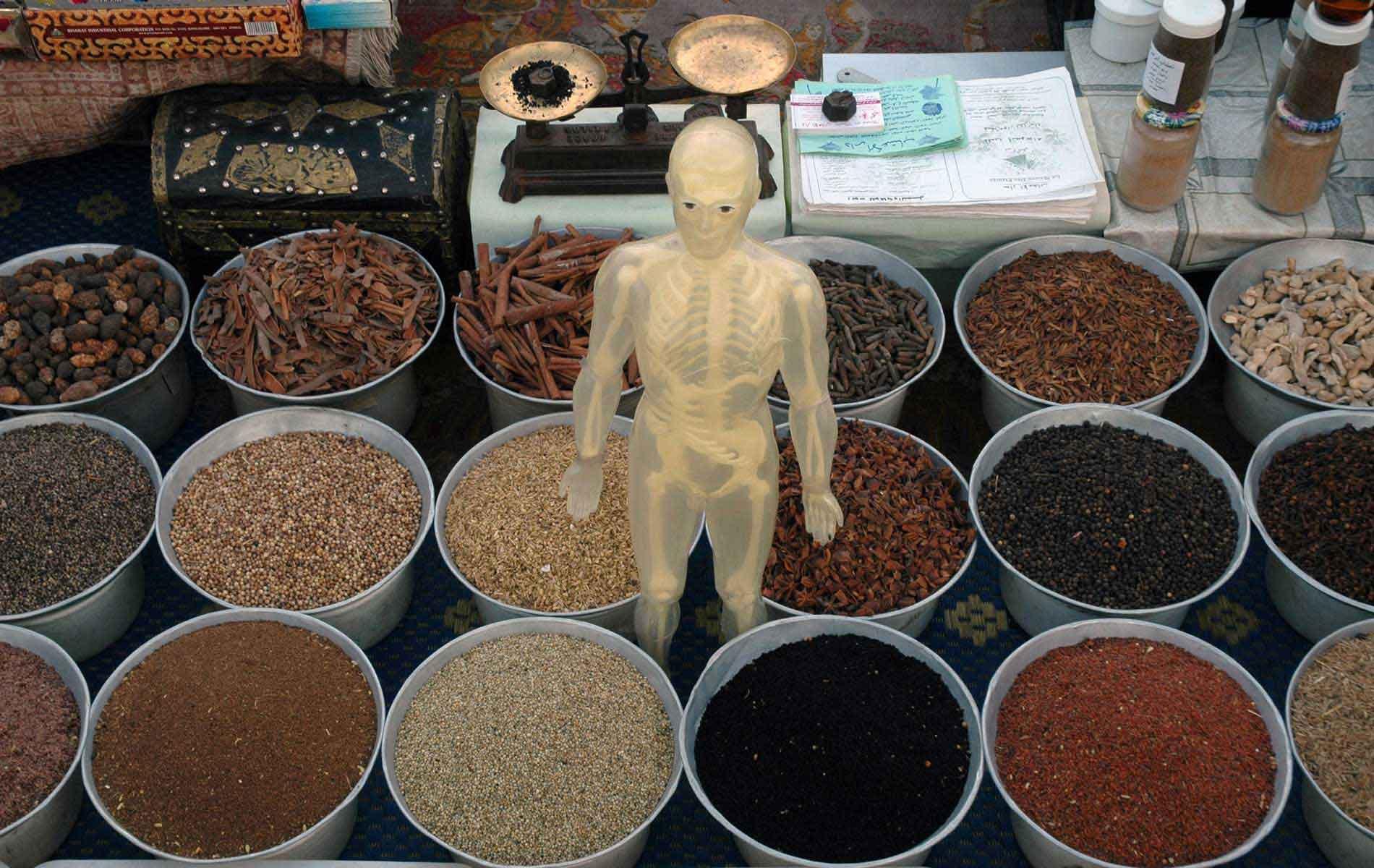 MOROCCO - Marrakech - Jemaa el Fna Square - Medicine Man Shop - © Graziano Villa