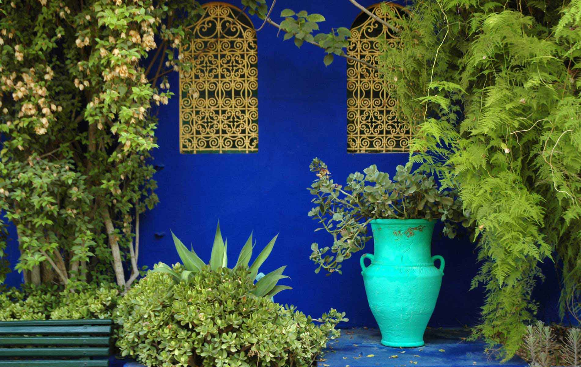 MOROCCO - Marrakech - Y.S.Laurent Blue House - © Graziano Villa