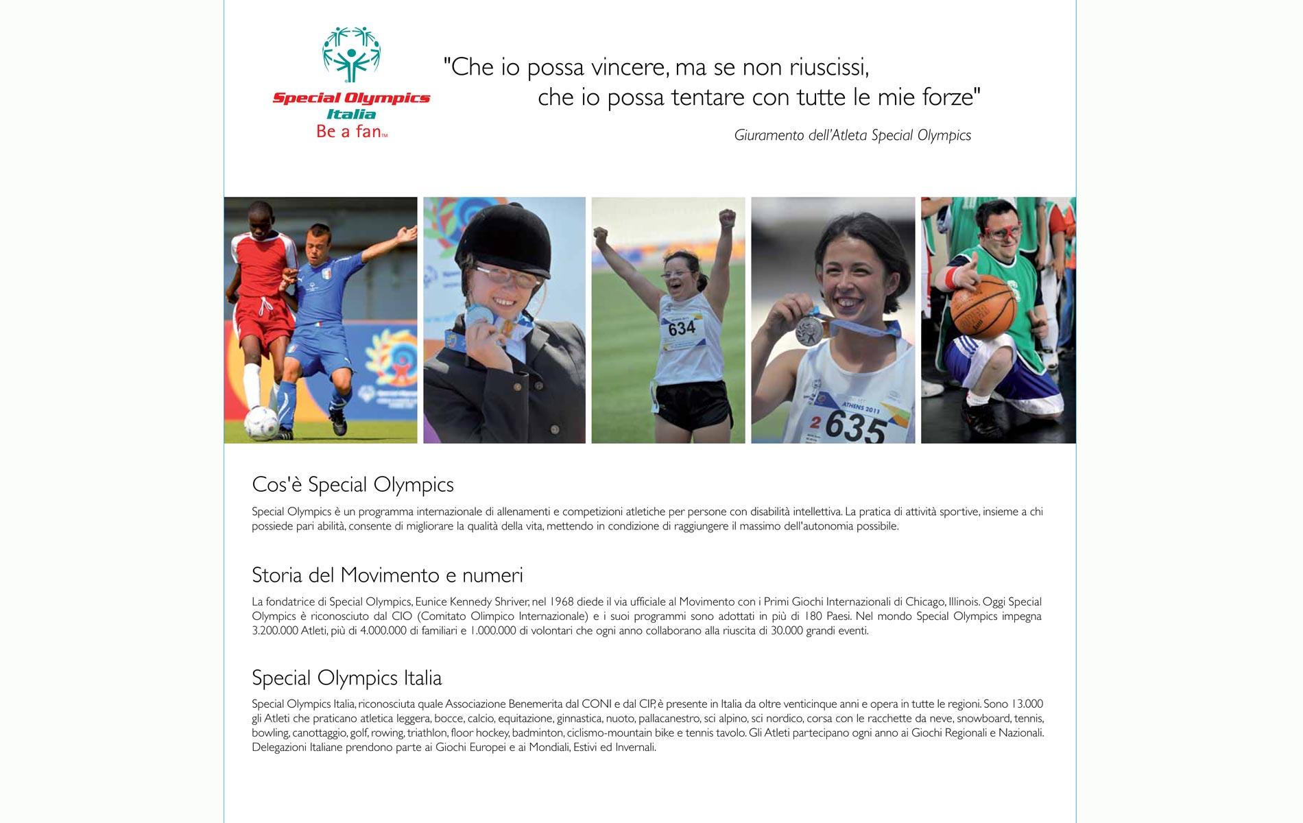 """ CHAPEAU ! "" - SPECIAL OLYMPICS ITALIA - CALENDAR 2012 - © Graziano Villa"