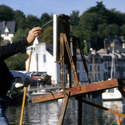 The Painters in Pont- Aven – Brittany – France