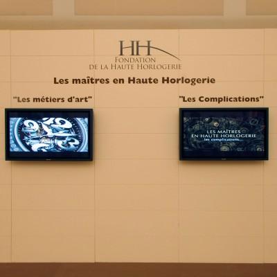 AD-SALON INTERNAZIONAL de la HAUTE HORLOGERIE- GENEVE-CH