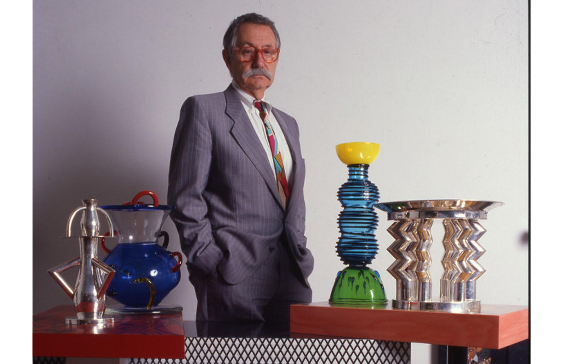 ETTORE SOTTSASS - Italian Architect and Designer - Portraits Exhibition - © Graziano Villa