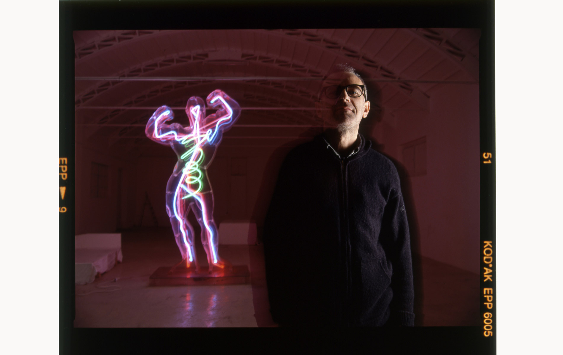 MARCO LODOLA - Italian sculptor - Portraits Exhibition - © Graziano Villa