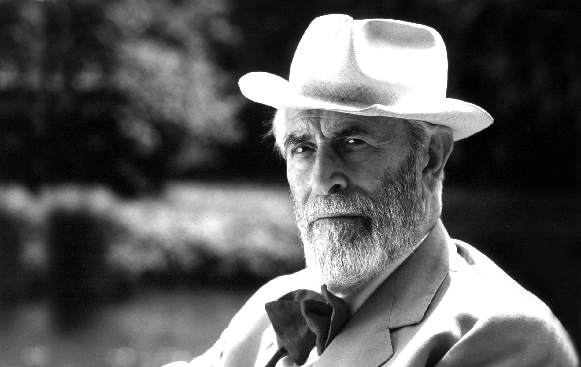 MARIO SOLDATI - Italian movie director, writer and journalist - Portraits Exhibition - © Graziano Villa