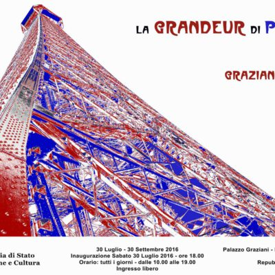 """La GRANDEUR di PARIGI"" – Portraits of Architectures"
