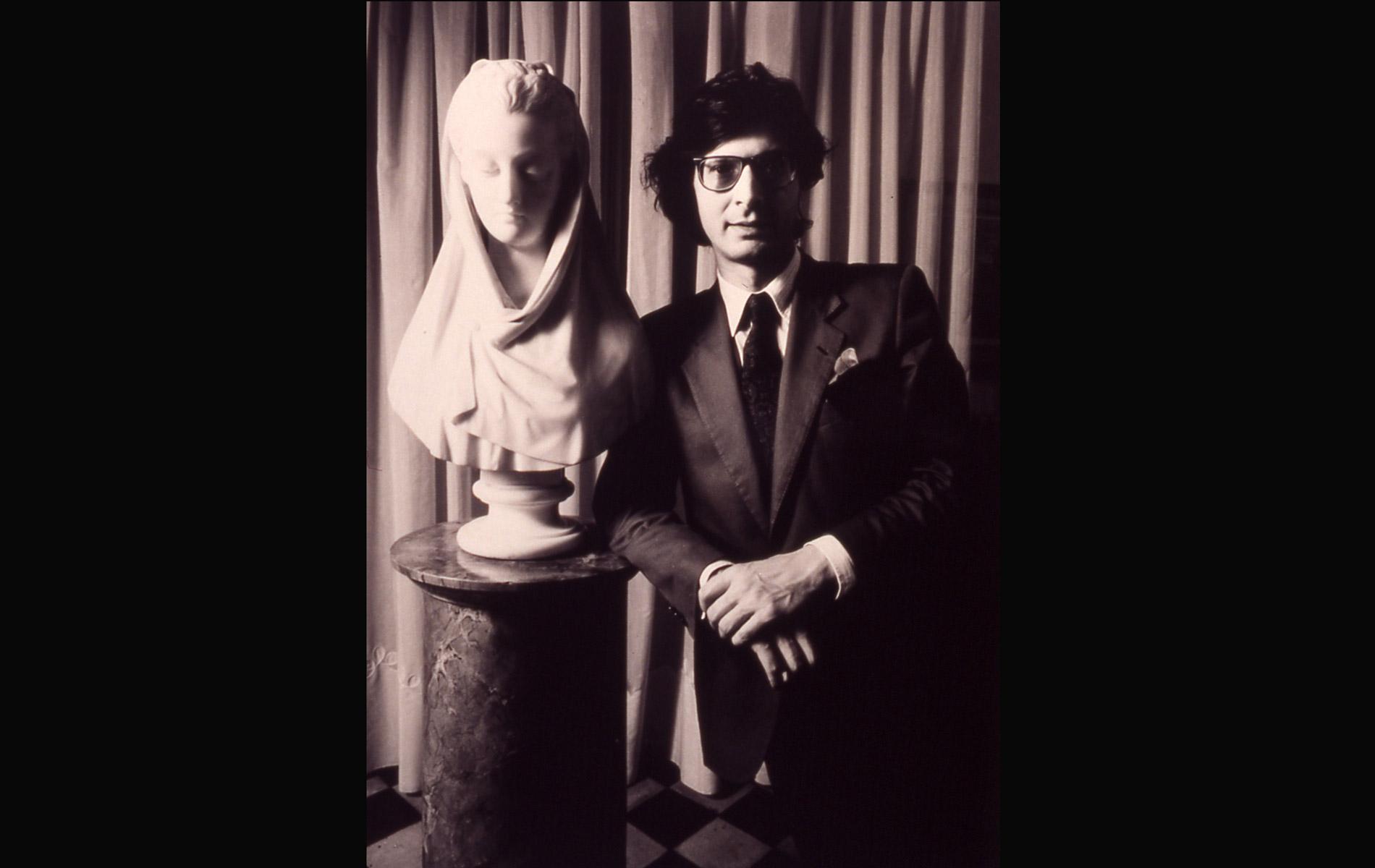 VITTORIO SGARBI - Italian Art Critic - Portraits Exhibition - © Graziano Villa