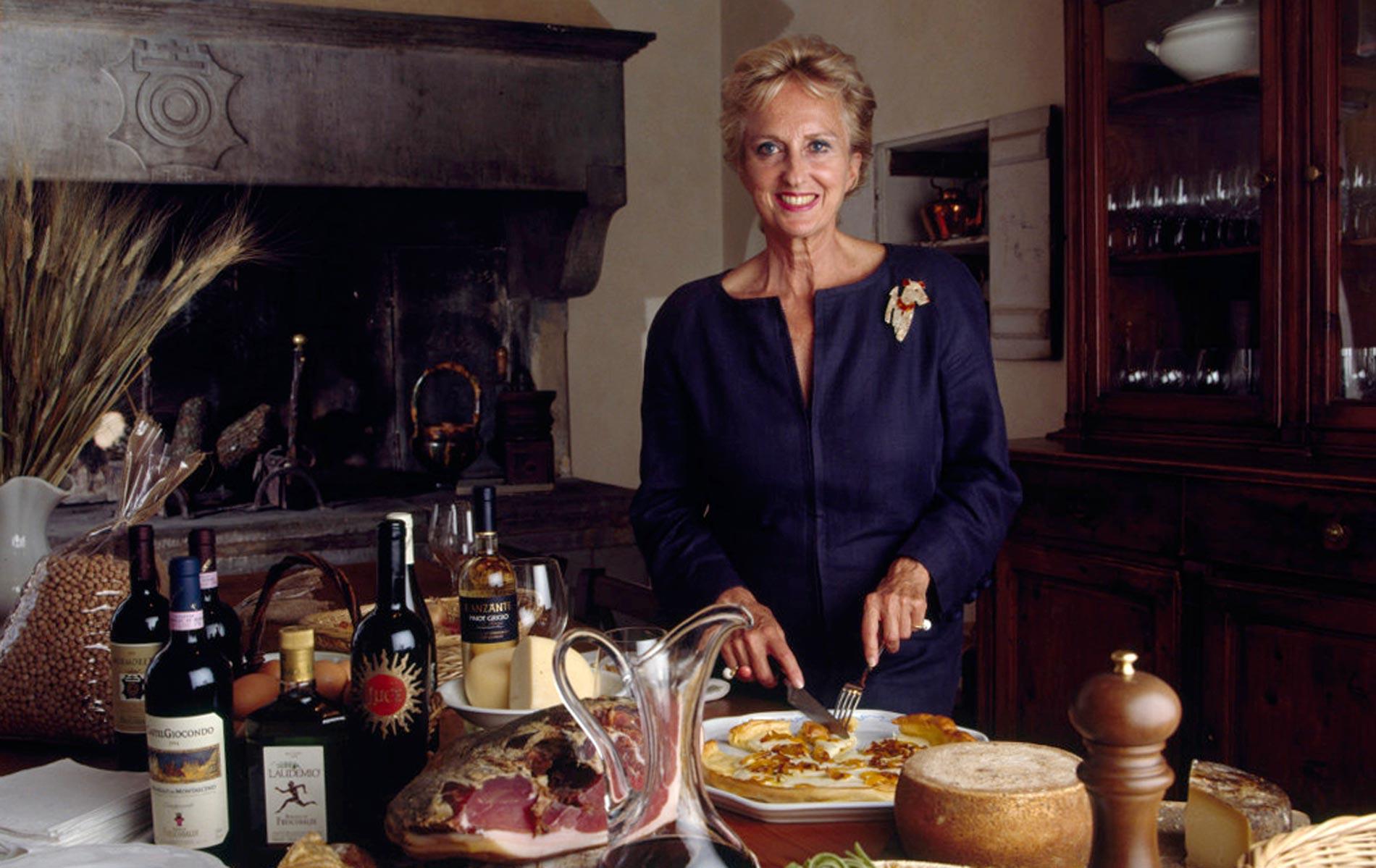 Donna BONA FRESCOBALDI - Winery Entrepreneur - Florence - Italy - © Graziano Villa