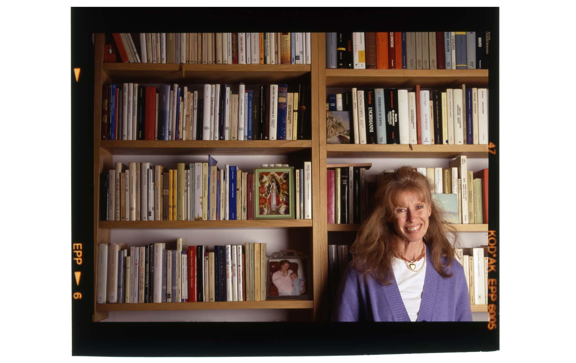 Isabella BOSSI-FEDRIGOTTI - Italian writer and journalist - Milan - ©Graziano Villa
