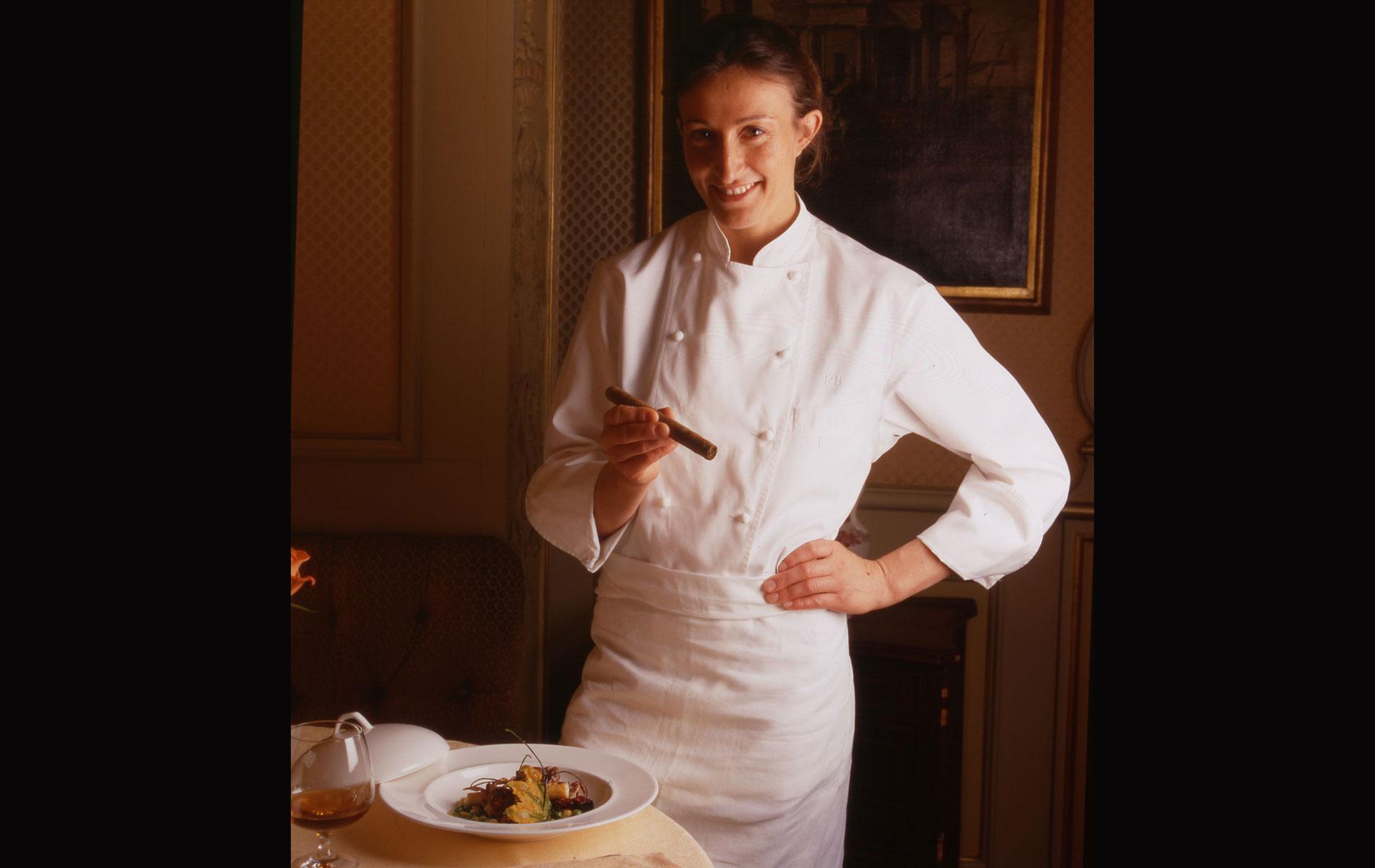 PAOLA BUDEL - Italian Chef -Milan - © Graziano Villa