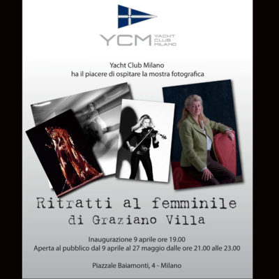"""WOMEN IN PORTRAITS"" – ""RITRATTI AL FEMMINILE"" – Photo Exhibition"