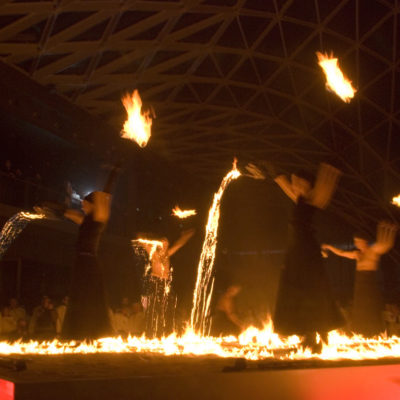 """FIRE DANCE"" by ""LA SALAMANDRE"" – FIERA MILANO – 2007"