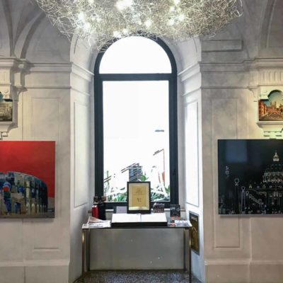 "Mostra-Exhibition ""ROMA CAPUT MUNDI"" – Location Via Margutta 56 – Roma"