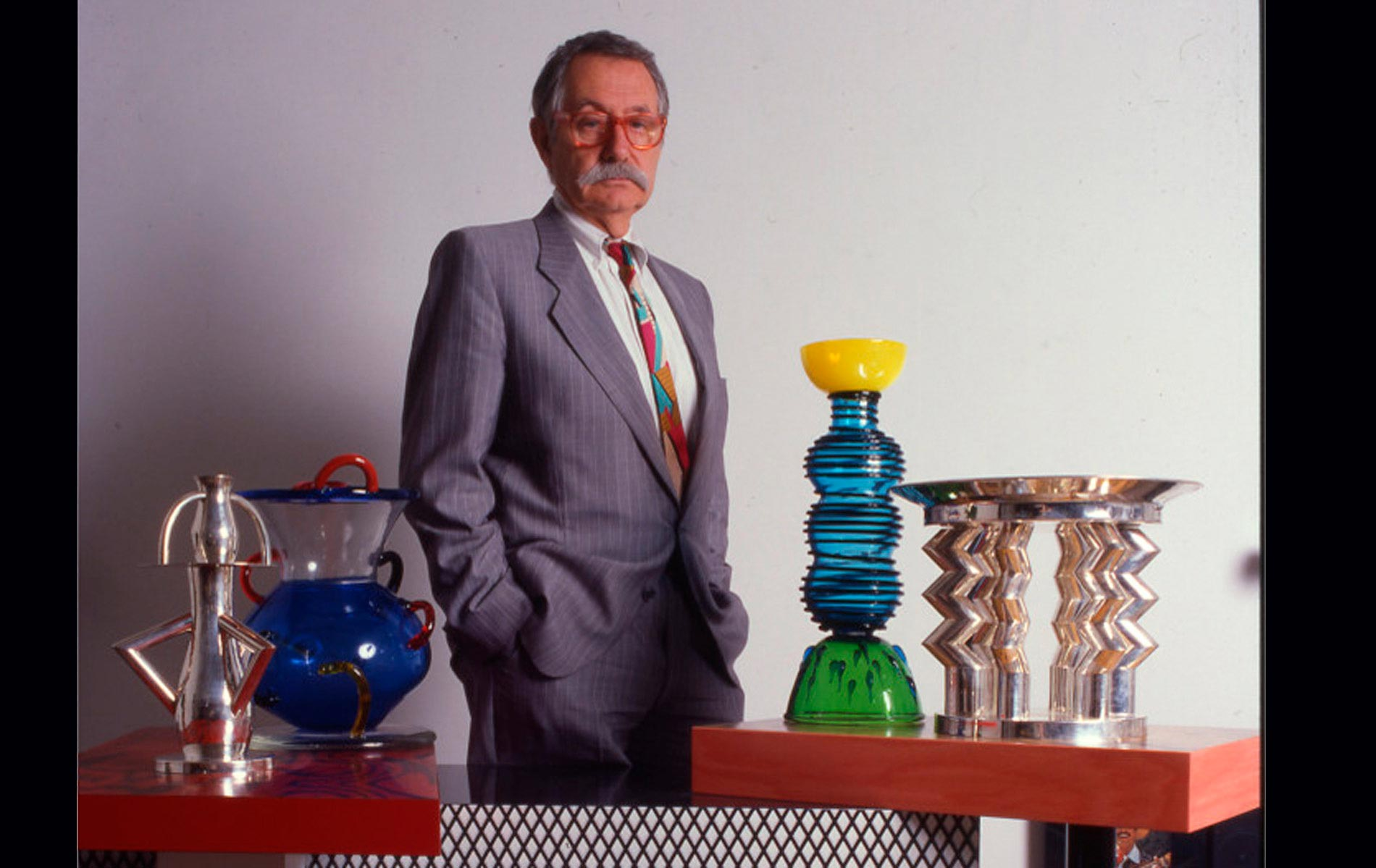 "Ettore SOTTSASS - for ""AD-Architectural Digest"" Magazine"
