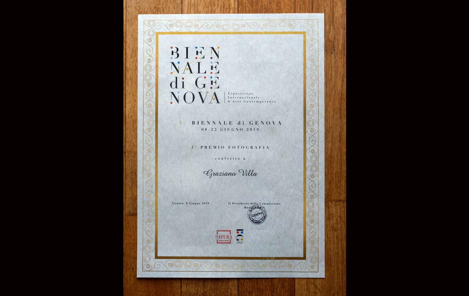 La Pergamena del Premio - The Award Parchment