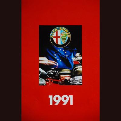 """ALFA ROMEO"" – 1991 CALENDAR"