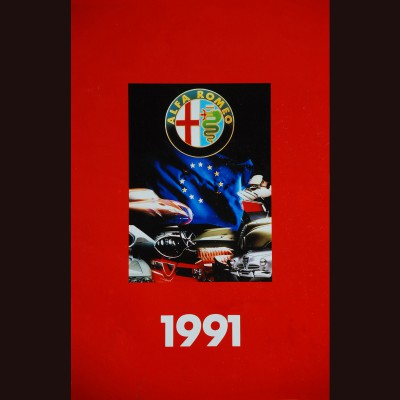 ALFA ROMEO – 1991 CALENDAR