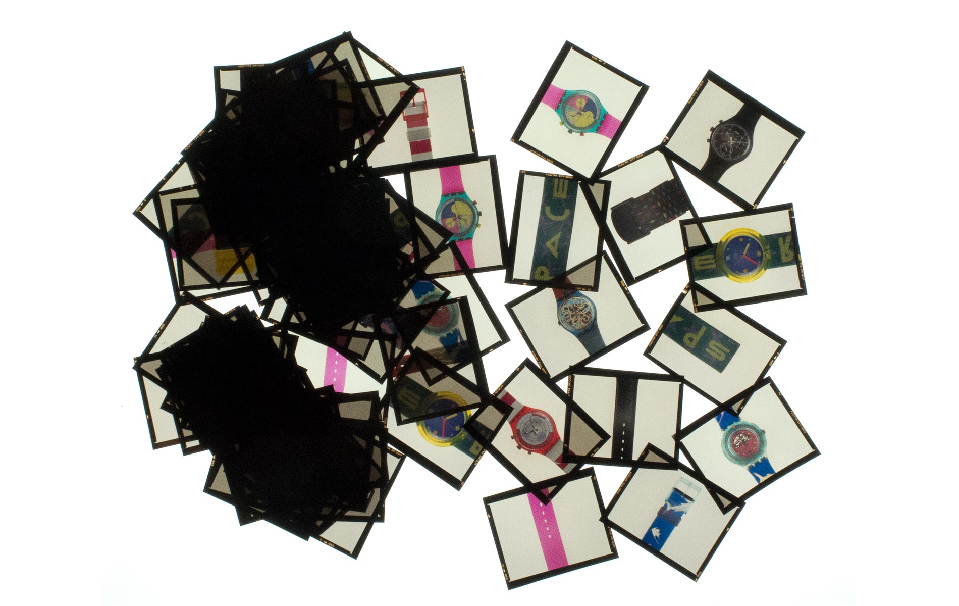 SWATCH PUZZLE Collection - all color slides - 120 size - © Graziano Villa