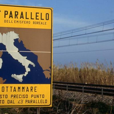 """""""43° PARALLEL"""" – ITALY for """"GENTE-VIAGGI"""" – Hachette Rusconi"""