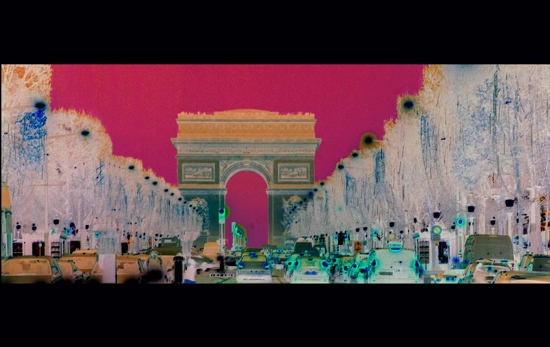 2. La Vie en Rose  n. 1  –  The Pink Road n.1 - © Graziano Villa