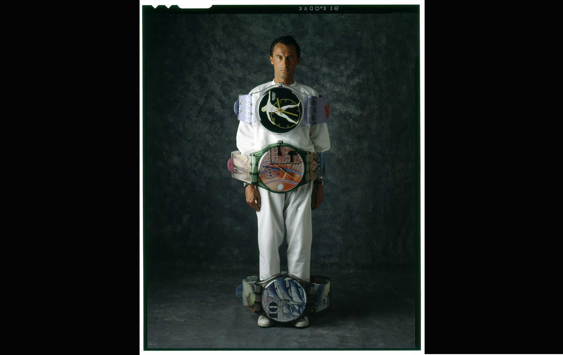 FRANCO BOSISIO - The SWATCHMAN - Portraits Exhibition - © Graziano Villa