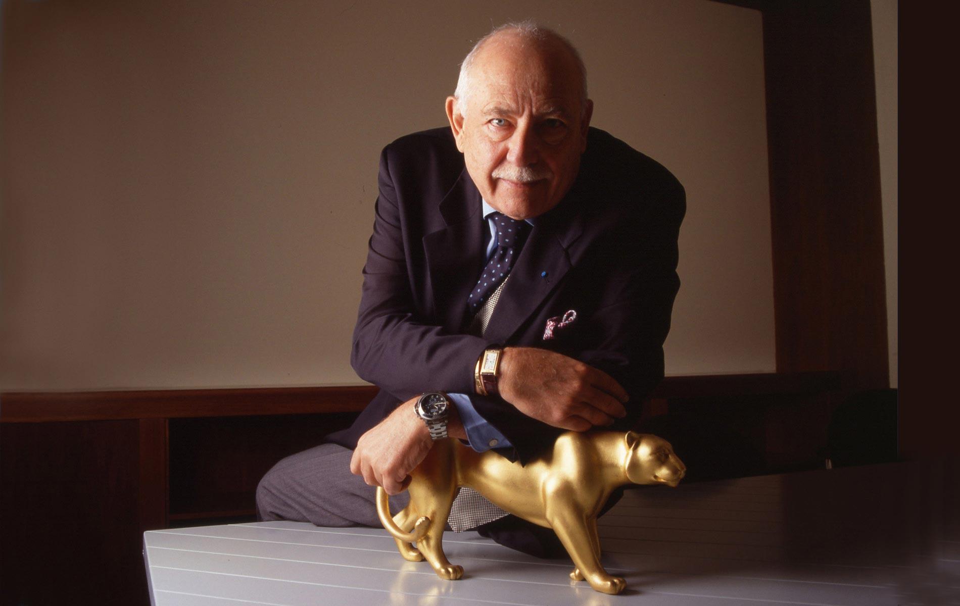 FRANCO COLOGNI - Italia President of Cartier - Portraits Exhibition - © Graziano Villa