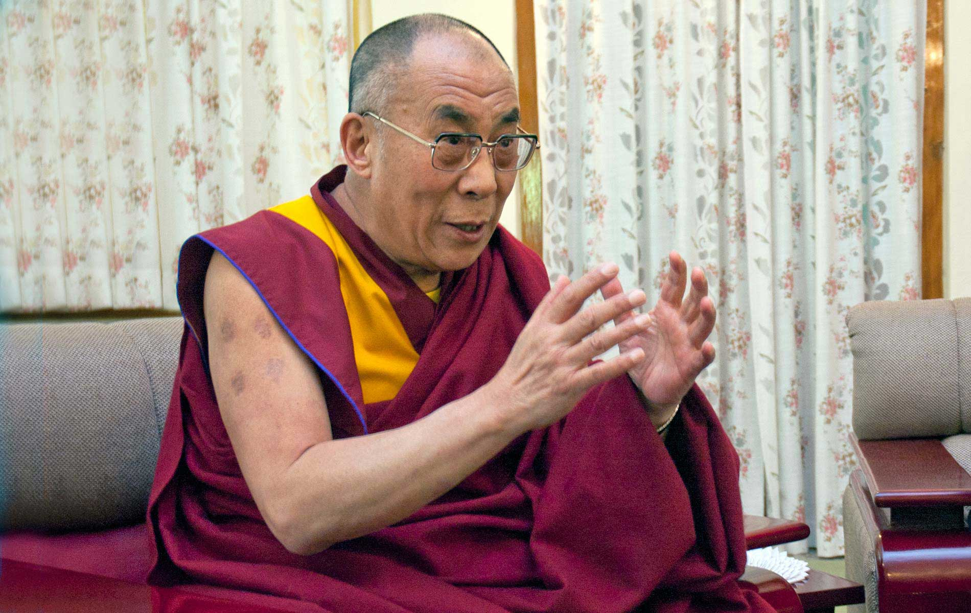 H.H. The 14th Dalai Lama - Portraits Exhibition - © Graziano Villa