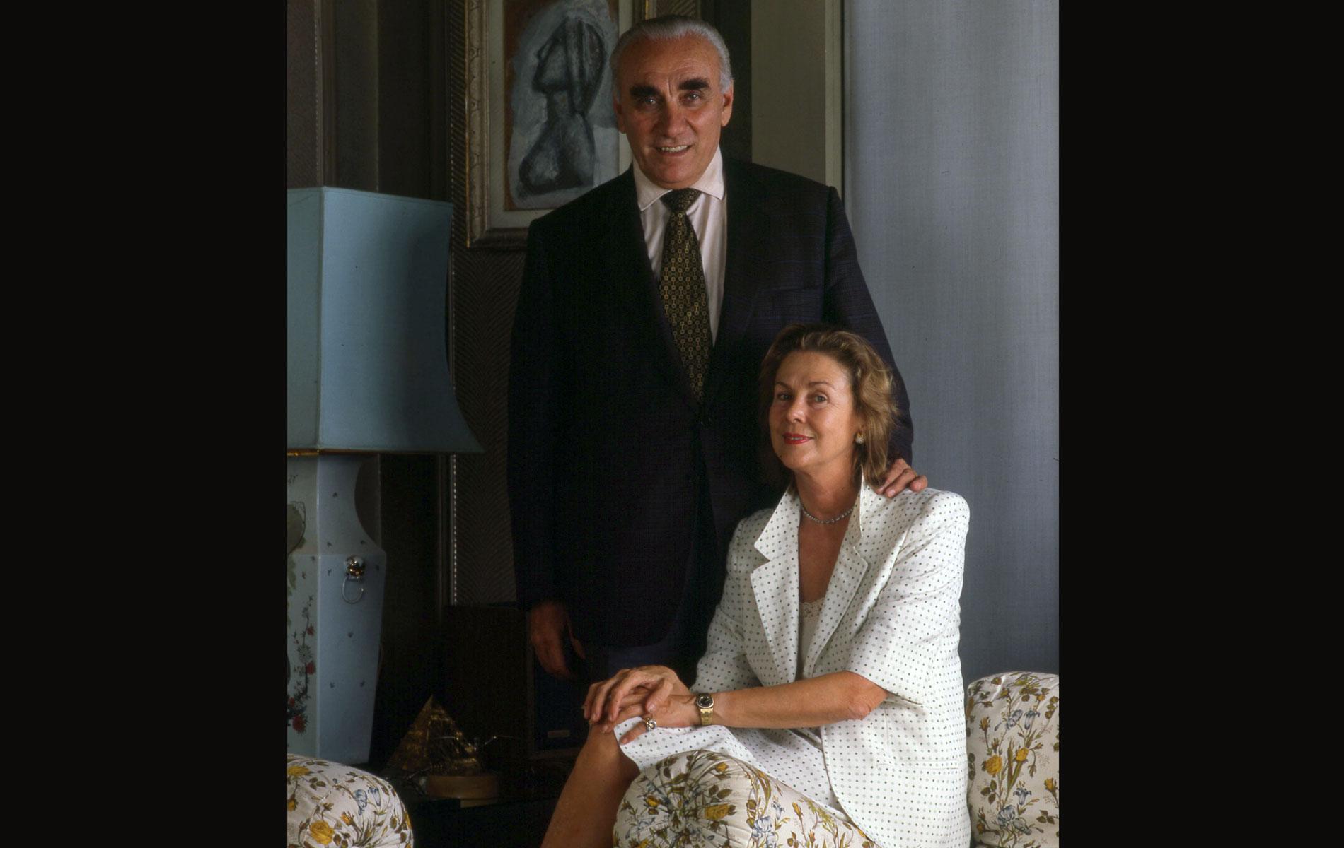 GIORGIO and NARA MONDADORI - Portraits Exhibition - © Graziano Villa