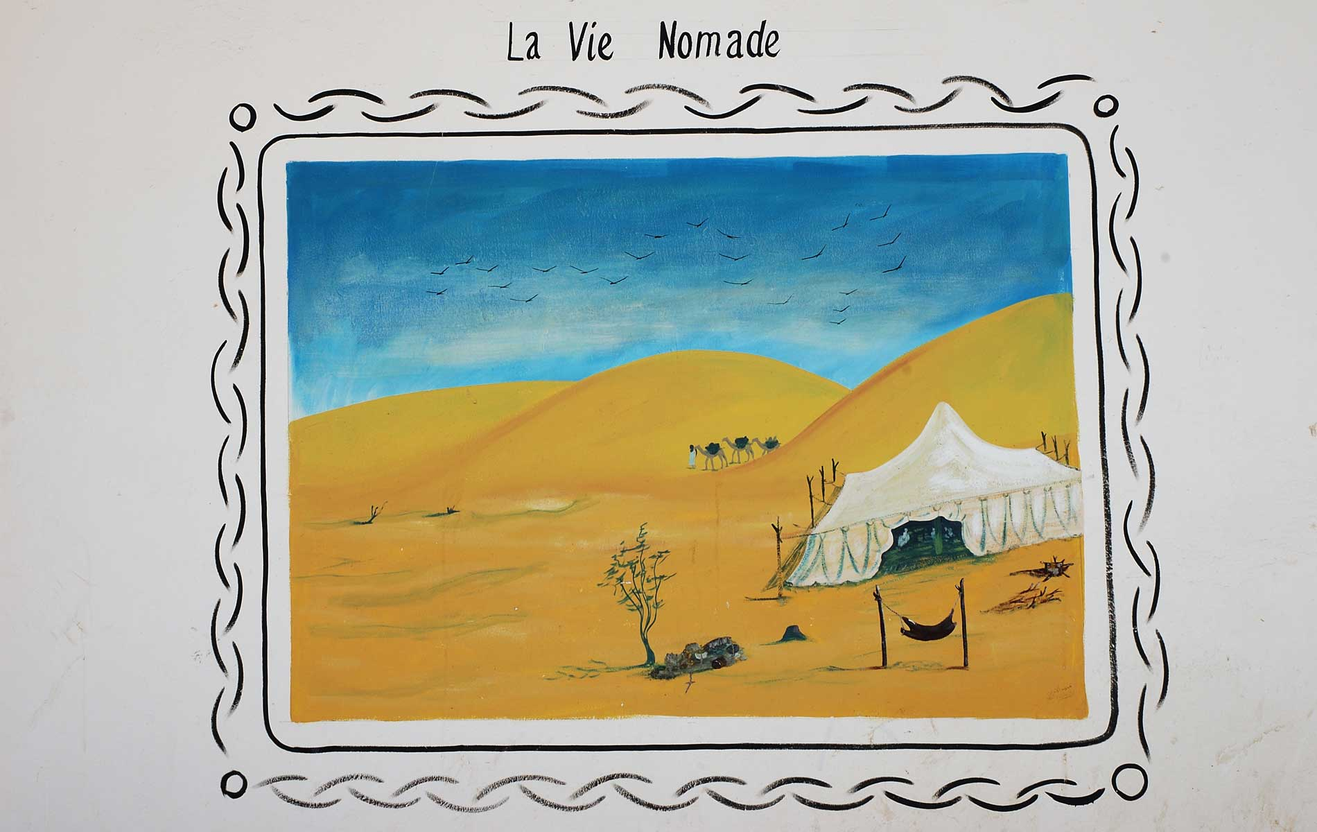 MAURITANIA - the sign of the way of the nomads - © Graziano Villa