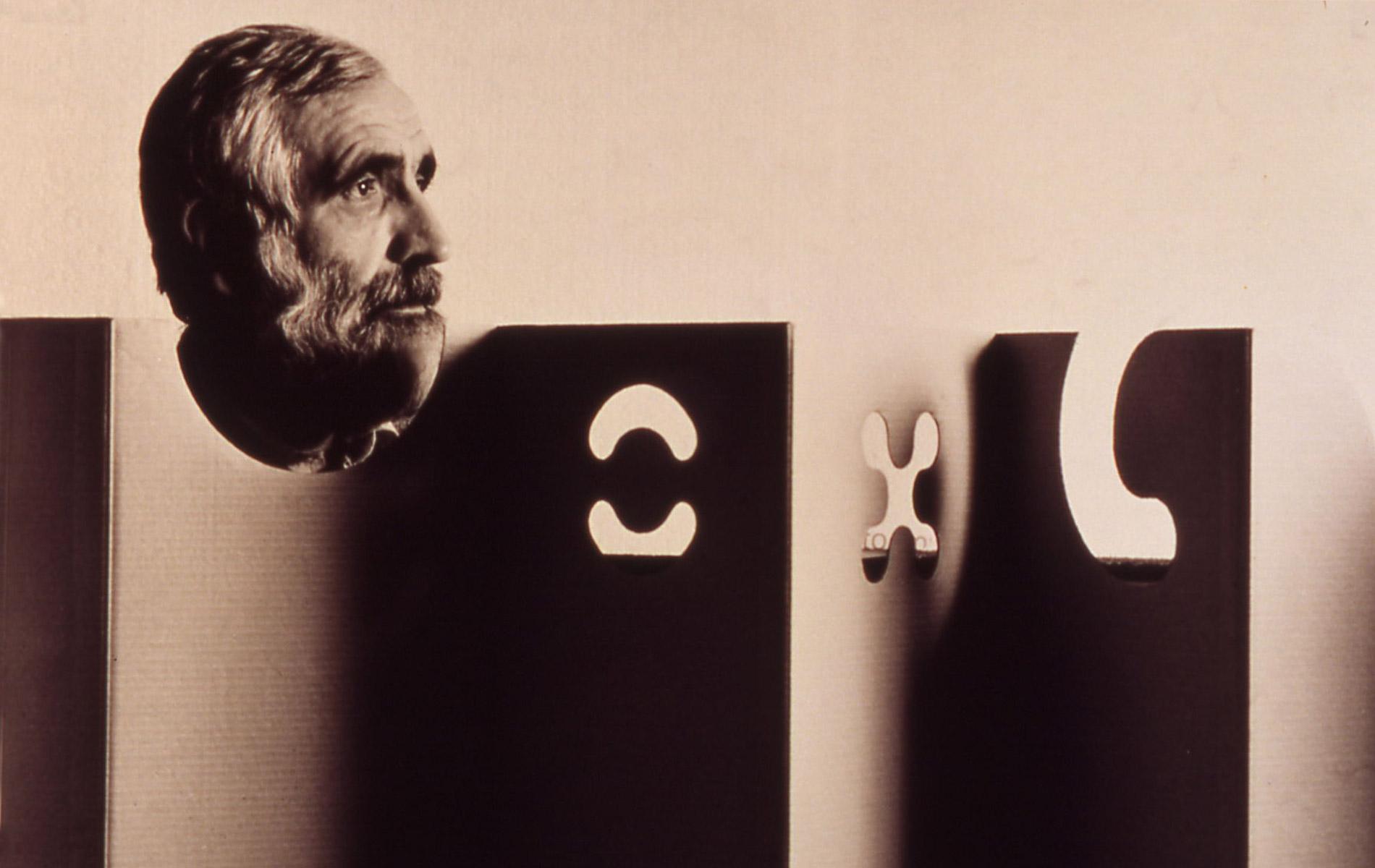 ENZO MARI - Italian architect and designer - Portraits Exhibition - © Graziano Villa