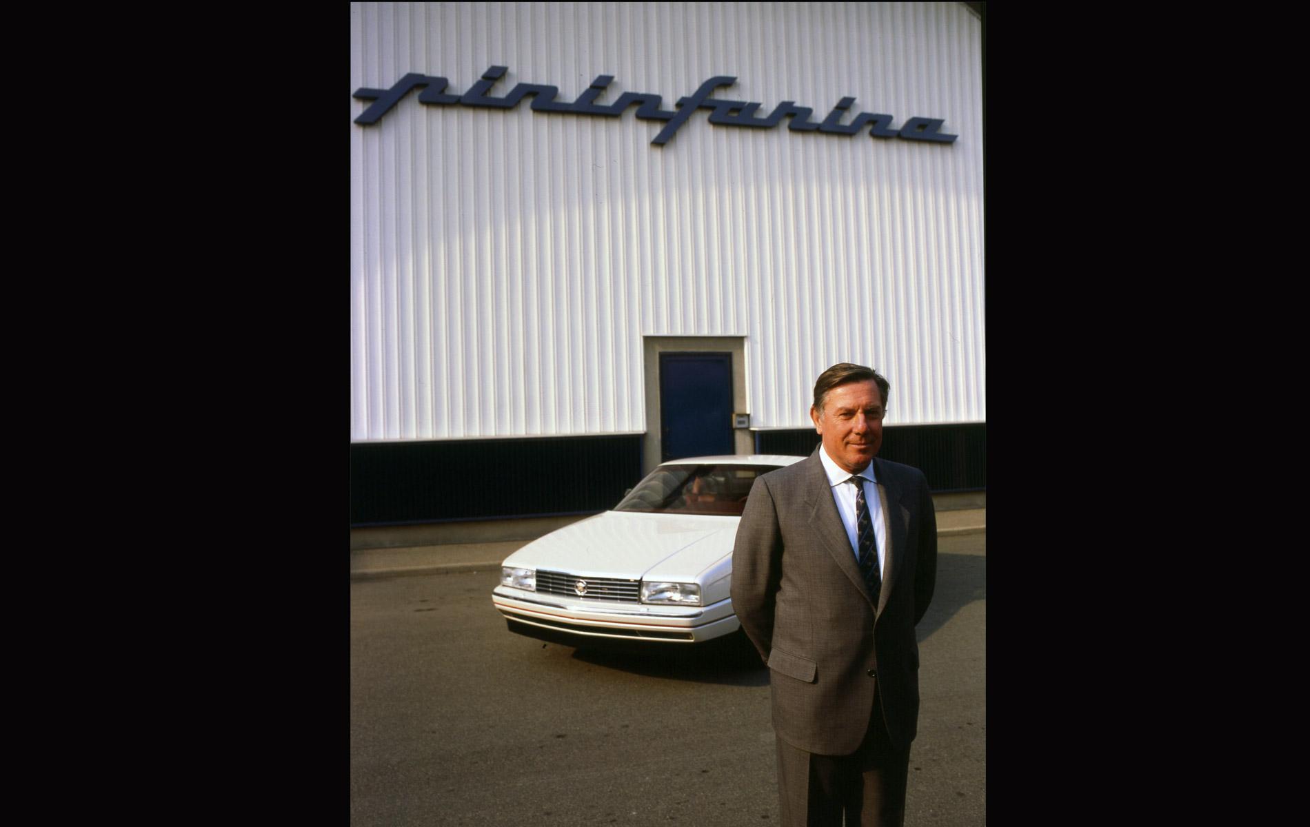 SERGIO PININFARINA - Italian Car Designer - Portraits Exhibition - © Graziano Villa