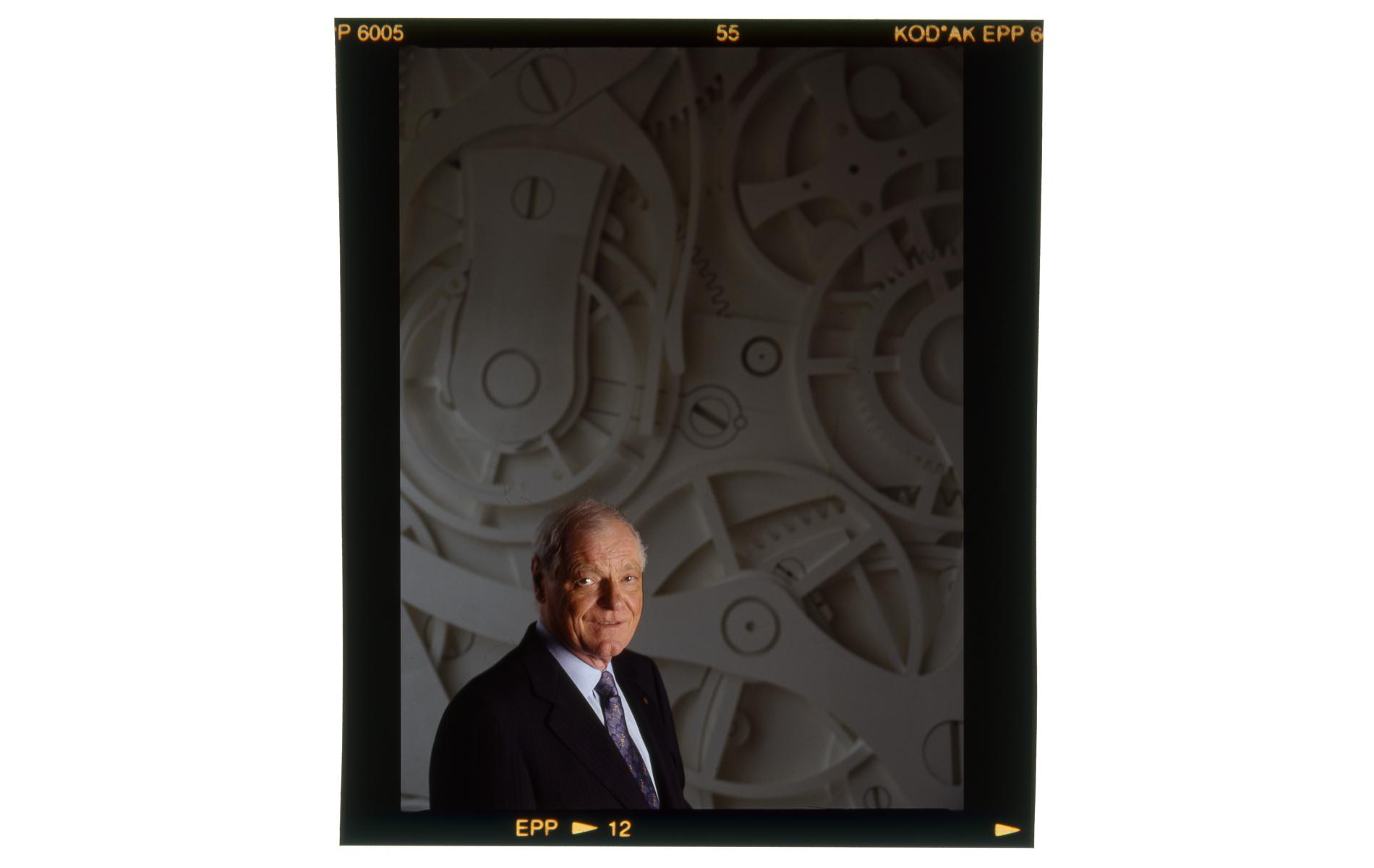 """PHILIPPE STERN - President and CEO of """"Patek Philippe"""" - Portraits Exhibition - © Graziano Villa"""