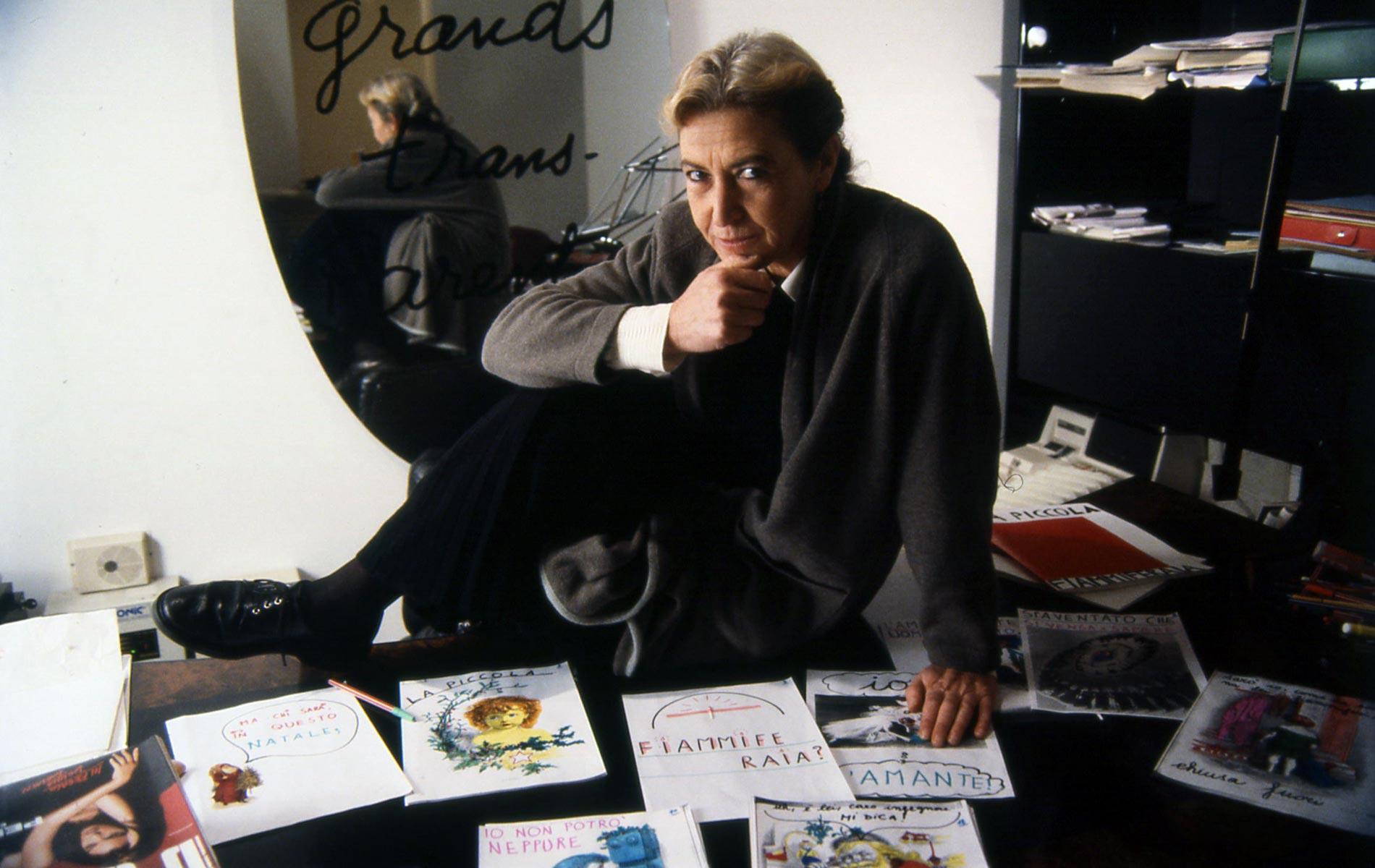BARBARA ALBERTI - Italian writer and journalist - © Graziano Villa