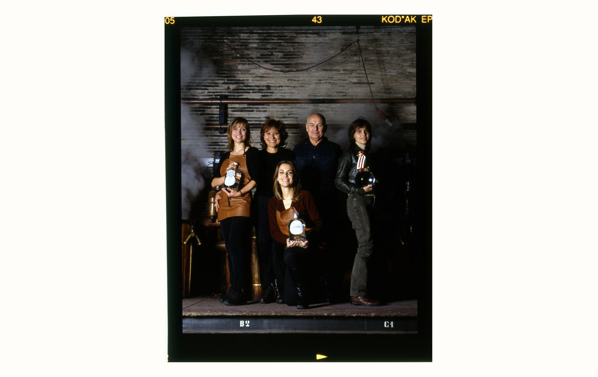 NONINO Family -  Grappa Winery Entrepreneur Family - Veneto - © Graziano Villa