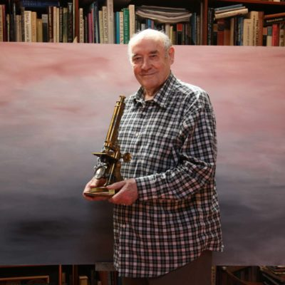 """DESMOND MORRIS"" – English zoologist, ethologist and surrealist painter"
