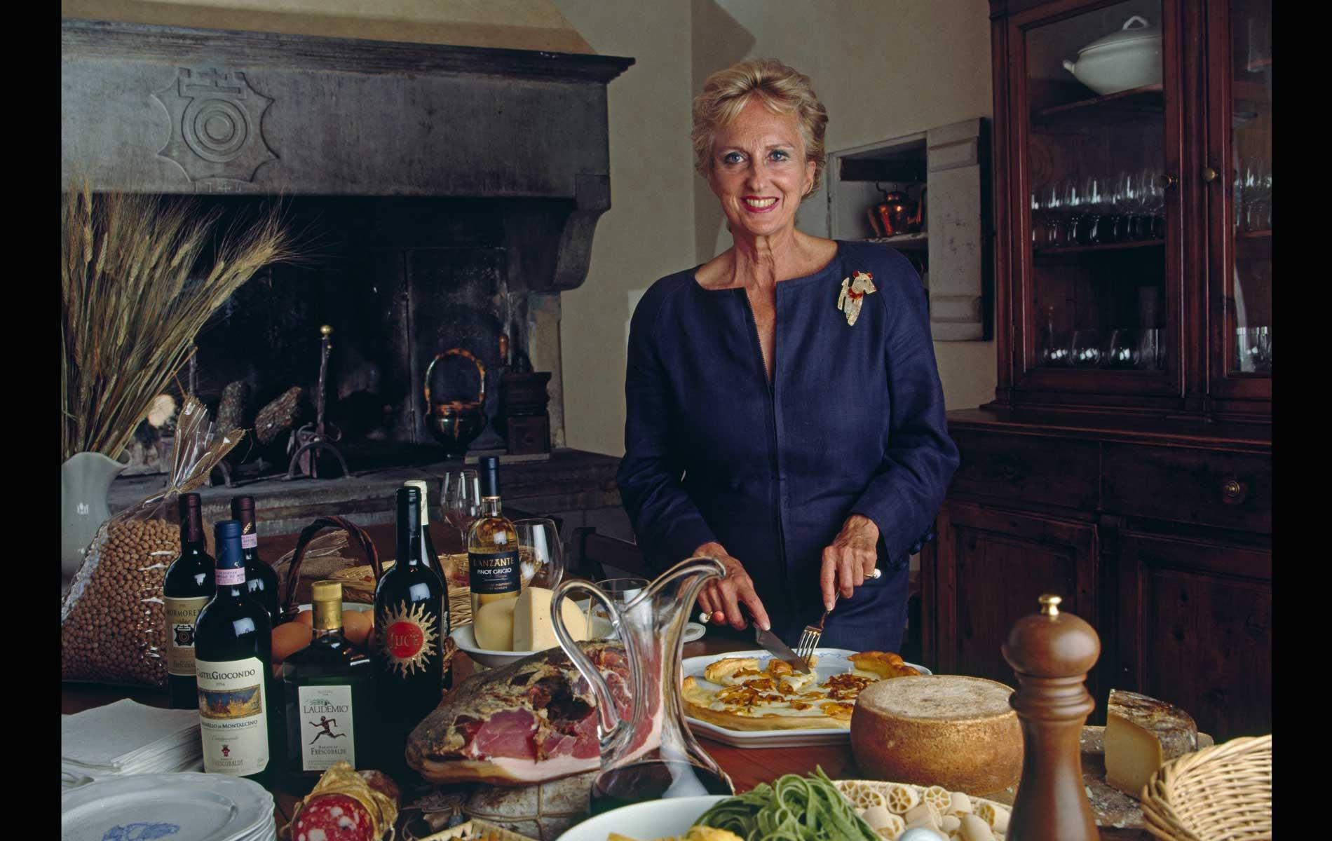 "Donna BONA FRESCOBALDI for ""CAPITAL"" Magazine"