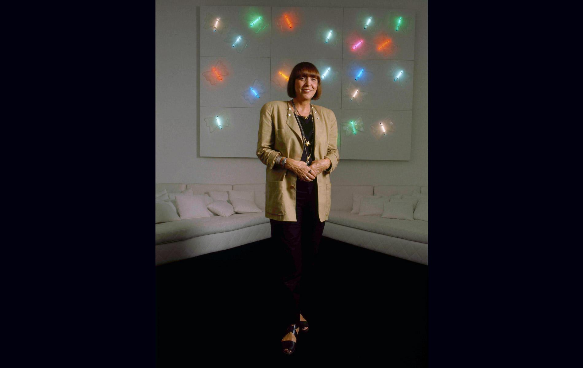 """MARIUCCIA MANDELLI - KRIZIA - for """"AD-Architectural Digest"""" Magazine"""