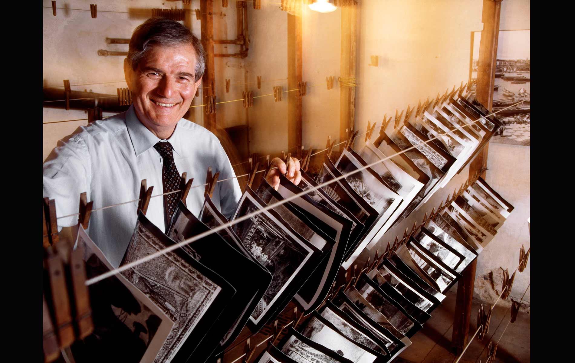 """CALUDIO DEL POLO SAIBANTI - Owner of """"F.lli ALINARI Archive"""" - for """"AD-Architectural Digest"""" Magazine"""
